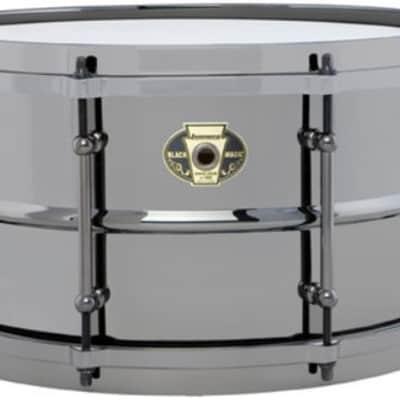 Ludwig LW0713 7'' x 13'' Black Magic Snare Drum