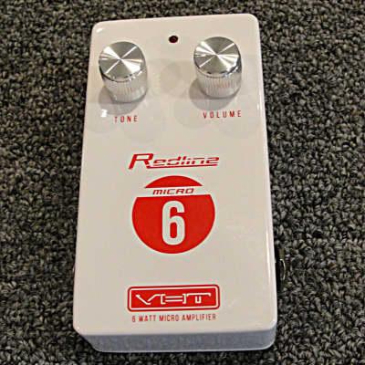VHT AV-RL-M6 VHT Redline Micro 6 watt Guitar Amp Pedal  Size powerd by 9 volt for sale
