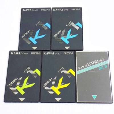 Kawai RAM ROM cards for K1 K1R K1m synthesizers modules rare! 1 of 3 selection