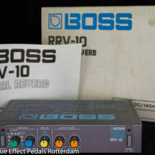Boss RRV-10 Digital Reverb Micro Rack Series mid 80's Japan