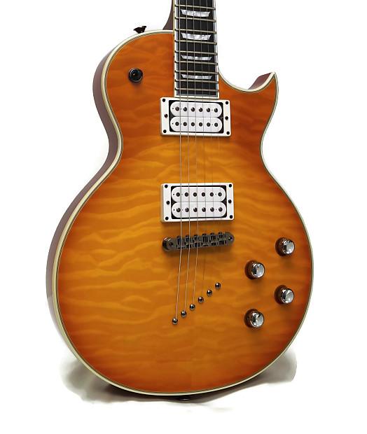 samick jtr design linda ln30qm electric guitar reverb. Black Bedroom Furniture Sets. Home Design Ideas