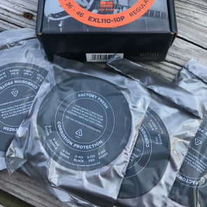 D'Addario EXL110-10P Nickel Wound Electric Guitar Strings Regular Light 10-46 10 Sets w/ Free XLR8