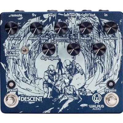 Walrus Audio Descent Reverb / Octave Machine Effects Pedal