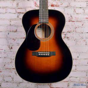 Martin 000-28EC Eric Clapton Signature Left Handed Sunburst Acoustic Guitar Natural for sale