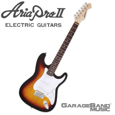 Aria Pro II STG-003 Electric Guitar, 3 Tone Sunburst for sale