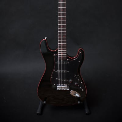 RARE Black and Red  Binding Musima MultiStar DeLuxe 1982 Black Aeorodyne for sale