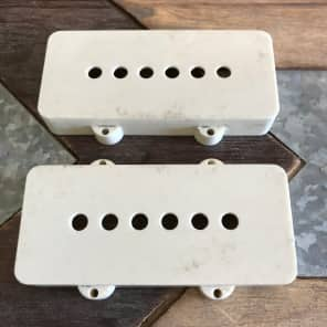 TOG/Real Life Relics Jazzmaster Pickup Covers White Relic