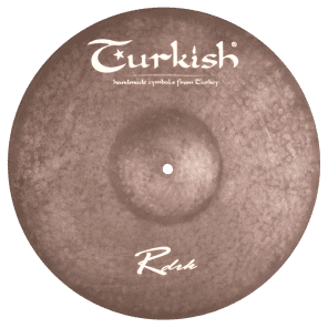 "Turkish Cymbals 16"" Raw Dark Series Raw Dark Crash RDRK-C16"