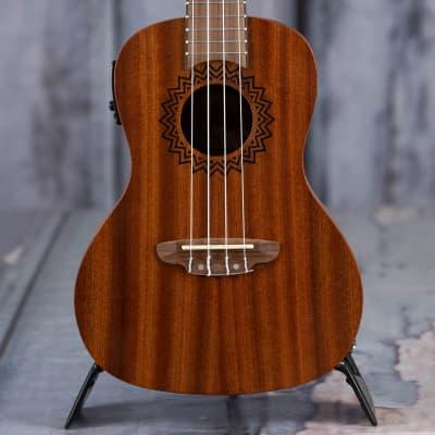 Luna Vintage Mahogany Concert Acoustic/Electric Uke, Satin Natural for sale