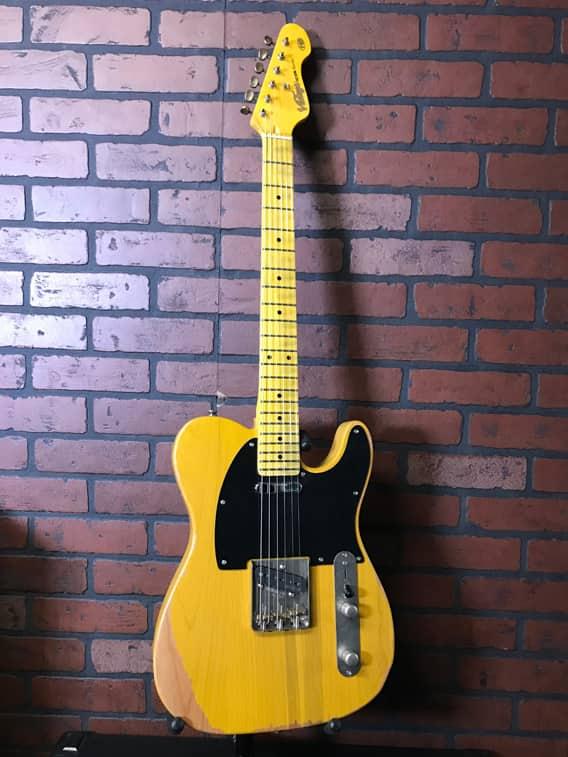 vintage v52mr tele style guitar amp shop bass exchange reverb. Black Bedroom Furniture Sets. Home Design Ideas