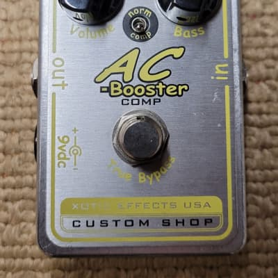 Xotic AC Booster Comp Overdrive Boost Pedal