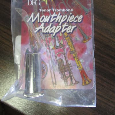 DEG A05-34B Mouthpiece Adaptor 2010s nickel silver