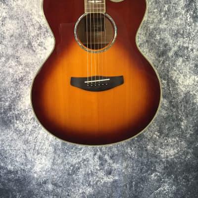 Yamaha CPX1000 Electro-Acoustic Guitar - Brown Sunburst - Re-Sale (Great Condition) for sale