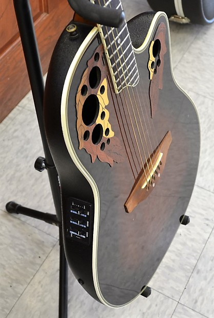 Ovation Celebrity Elite Plus CE44P-8TQ Acoustic-electric ...