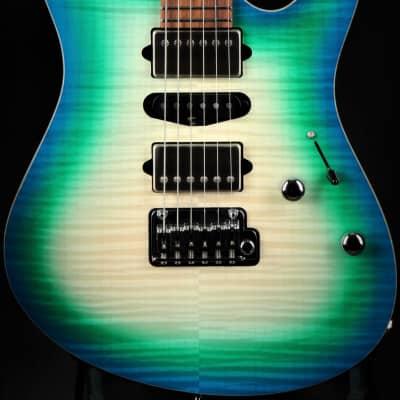 Suhr Eddie's Guitars Exclusive Roasted Modern - Island Burst