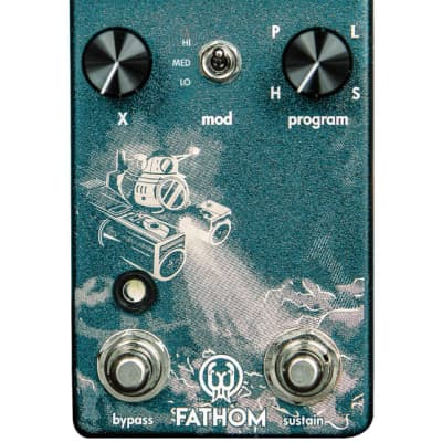 Walrus Audio Fathom Multi-Function Reverb Guitar Pedal for sale