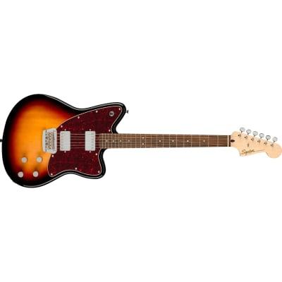 Squier (Fender) Paranormal Toronado Guitar, Laurel Fretboard, 3-Color Sunburst