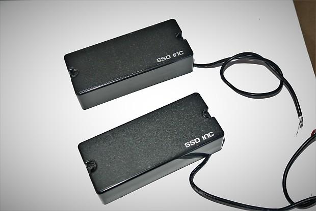 emg spector 35 hz bass passive pair soapbar black 4 reverb. Black Bedroom Furniture Sets. Home Design Ideas