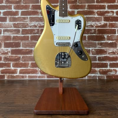 Fender Custom Shop 1964 Jaguar Lush Closet Classic, Rosewood, Aged Aztec Gold finish Mint Condition for sale