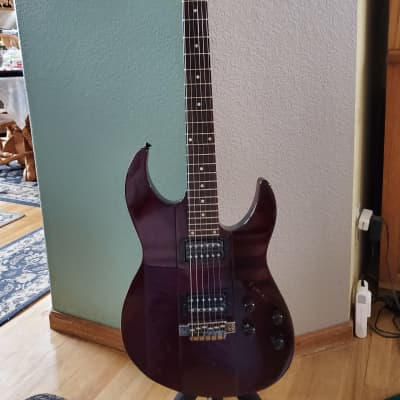Line 6 James Tyler Variax JTV-89 Modeling Electric Guitar Blood Red for sale