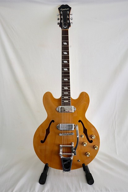2001 Epiphone Casino MIK and MINT - w/ Refret, HSC, Faber Bridge and More!