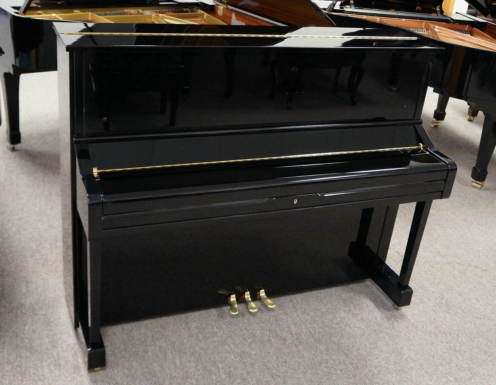 Yamaha U1 Upright Piano 1999 Black Polish