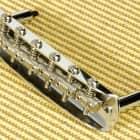 Fender USA Jazzmaster Jaguar Vintage Bridge With Threaded Saddles 0054460049 New image
