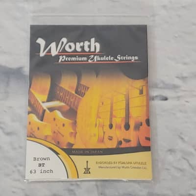 Worth Brown 63 BT Inch Ukulele Strings