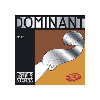 Cello Dominant C 4/4 Synth, Chrome Wound, Med