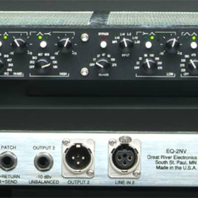Great River EQ-2NV - Two Channel Equalizer