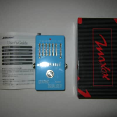 MINT Maxon GE601 Graphic Equalizer (made in Japan) - Worldwide Shipping for sale