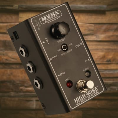 Mesa Boogie High-Wire Dual Buffer & Boost for sale