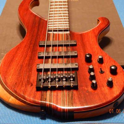 Muckelroy Solo Bass 2014 African Paduka /Deep Reddish Brown (as seen in Video)!