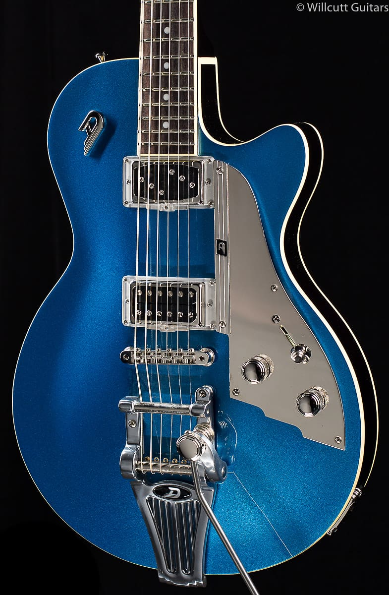 Duesenberg Starplayer Tv Catalina Blue No F Hole 410