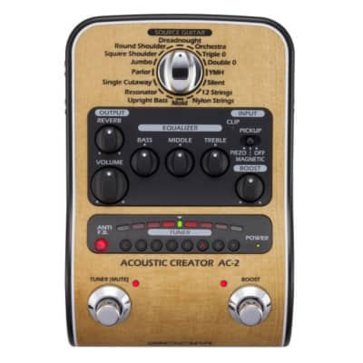 Zoom AC-2 Acoustic Creator Enhanced Direct Box