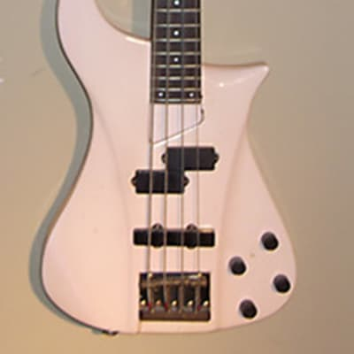 Ibanez bass ( vintage never released) hand-carved and custom made by Steve Vai's builder in 1986