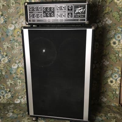 Peavey Musician Guitar/Bass Series 400 Head + 4x12 Cabinet for sale