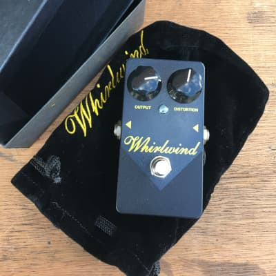 Whirlwind Goldbox Gold Box MXR Distortion Plus + Script Version True Bypass 2018 Black for sale