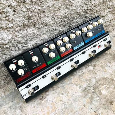 Biyang LiveMaster LM-7 Multi-Effect Modular Pedal w/ 6 Module [Gmusic Bundle] for sale