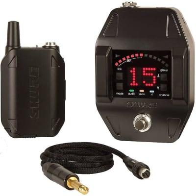 Shure GLXD16 Guitar & Bass Guitar Wireless System w/ Digital Pedal Receiver