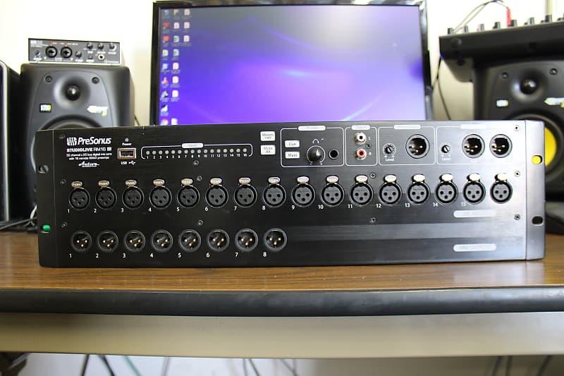 presonus studiolive rm16ai 16 ch digital mixer used reverb. Black Bedroom Furniture Sets. Home Design Ideas