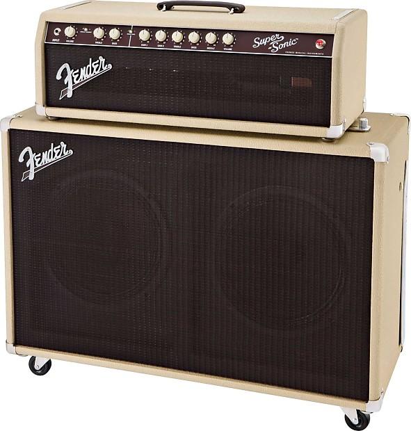 Fender Supersonic Head : fender super sonic 60 head cab reverb ~ Vivirlamusica.com Haus und Dekorationen