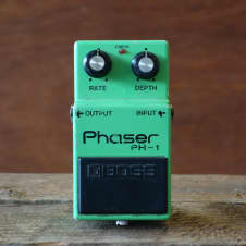1978 Boss PH-1 Phaser (Made In Japan, Silver Screw, Black Label)