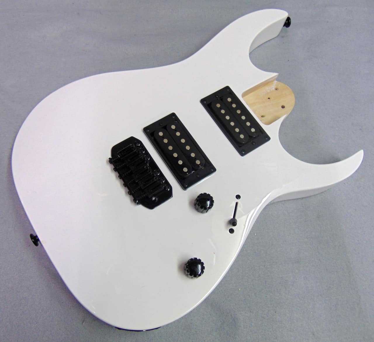 Ibanez Gio Electric Guitar Body White w/ Pickups, Electronics | Reverb