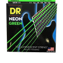DR Guitar Strings Electric Neon Green 11-50 Heavy
