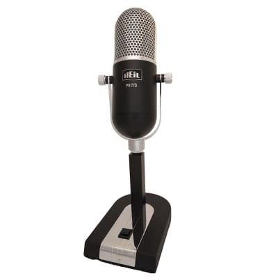 Heil Sound PR77D Dynamic Microphone - Black DEMO GENTLY USED