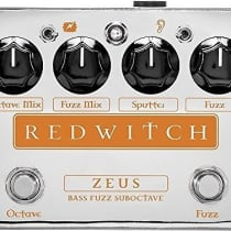 Red Witch Zeus Bass Fuzz Suboctave 2010s Chrome image