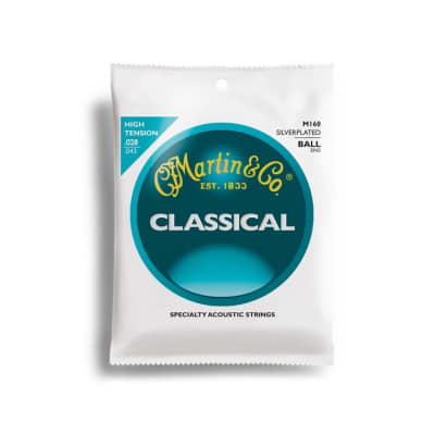 Martin M160-U Classical Ball End High Tension Strings^