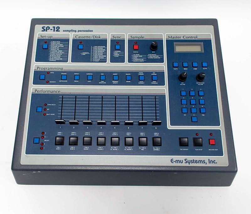 em u systems sp 12 sampling percussion drum machine vintage reverb. Black Bedroom Furniture Sets. Home Design Ideas