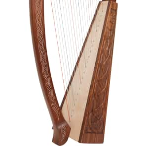 Roosebeck HTHA-E 22-String Heather Harp with Celtic Eala Design